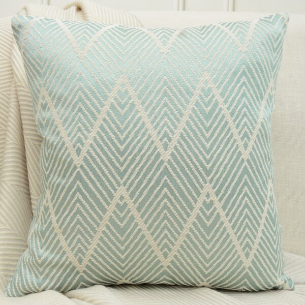 Jacquard Chevron Cushion Cover Without Filler, Multicolor