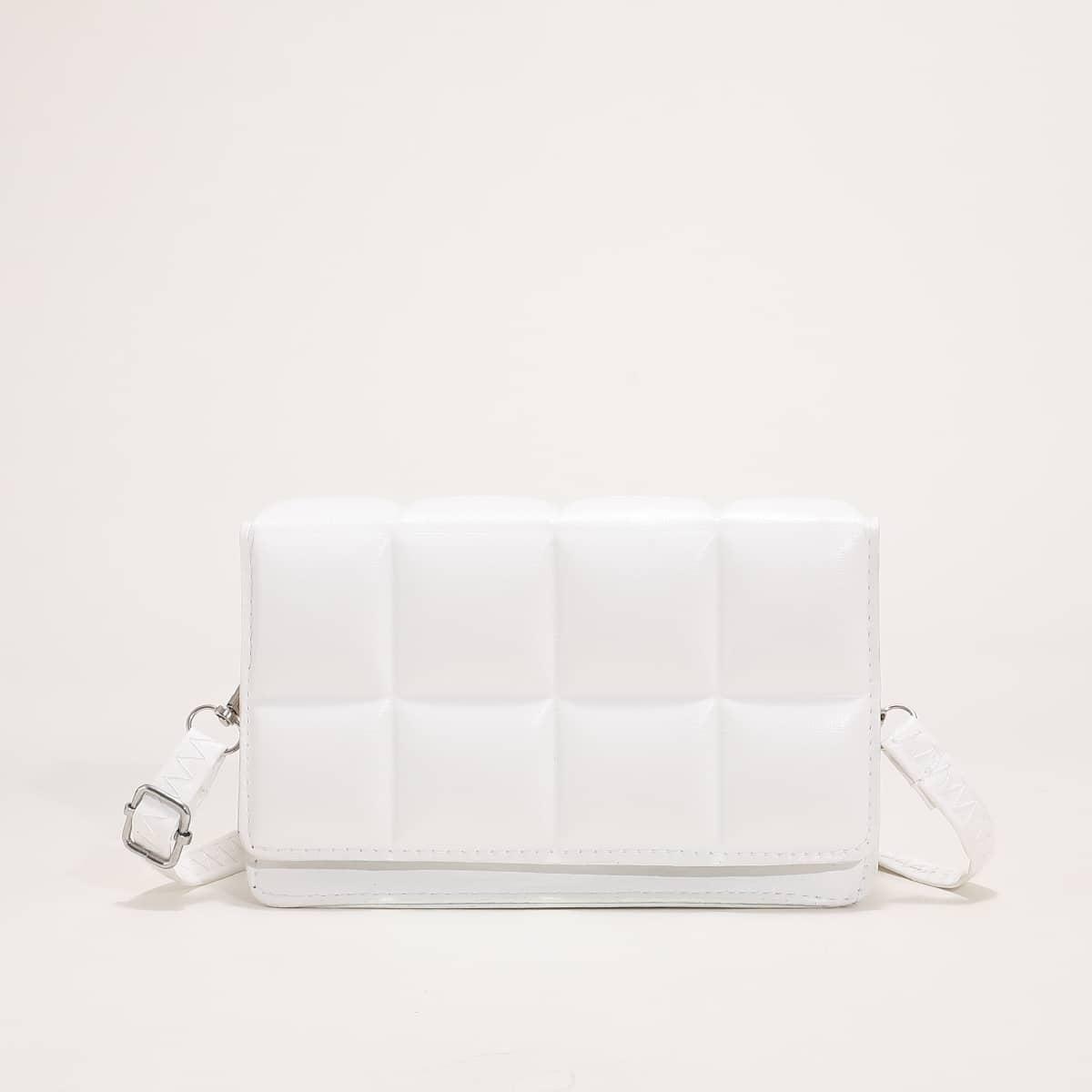 Квадратная сумка минималистичный текстурированный