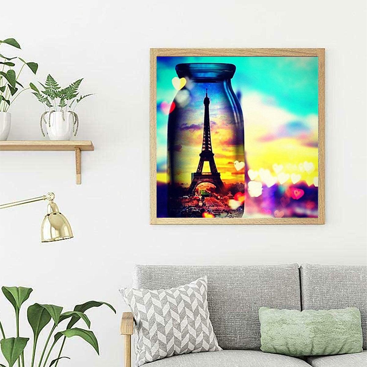 Tower Print DIY Diamond Unframed Painting