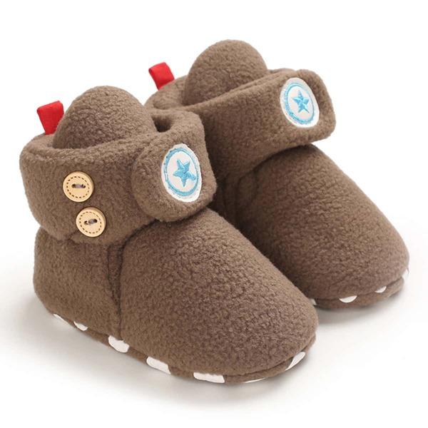 Baby Minimalist Star Graphic Boots, Brown