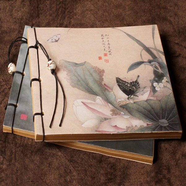 1pc Flower Print Random Notebook, Multicolor