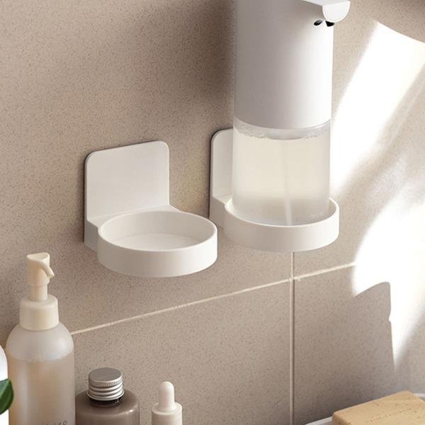1pc Wall-mounted Storage Rack, White