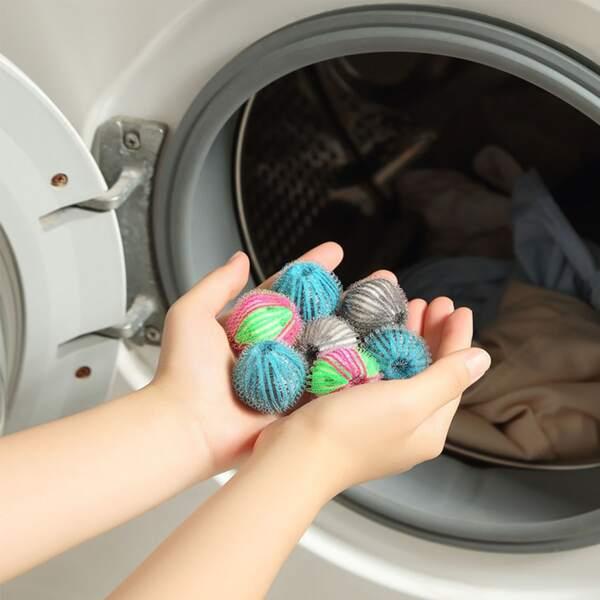 6pcs Random Color Pet Clothes Laundry Ball, Multicolor