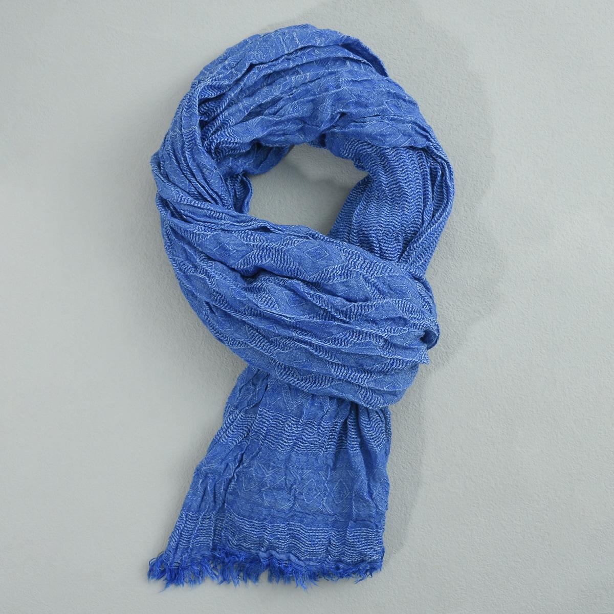 Мятый шарф для мужчины