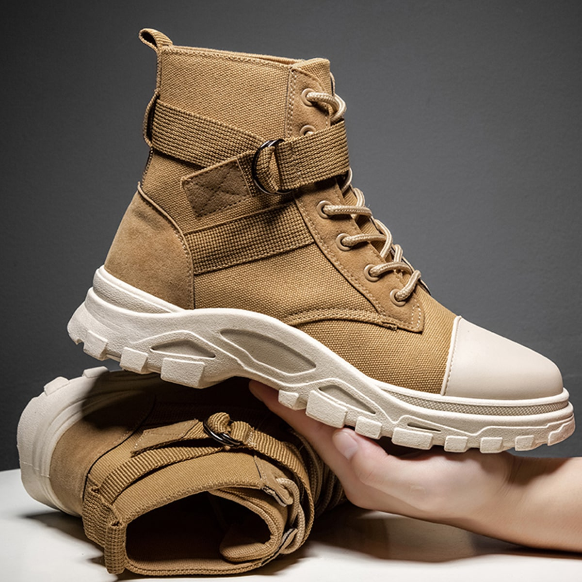 Ботинки на шнурках для мужчины