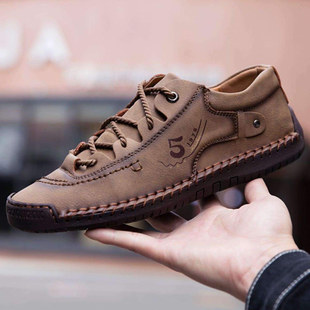 Мужская официальная обувь ручной работы с узором