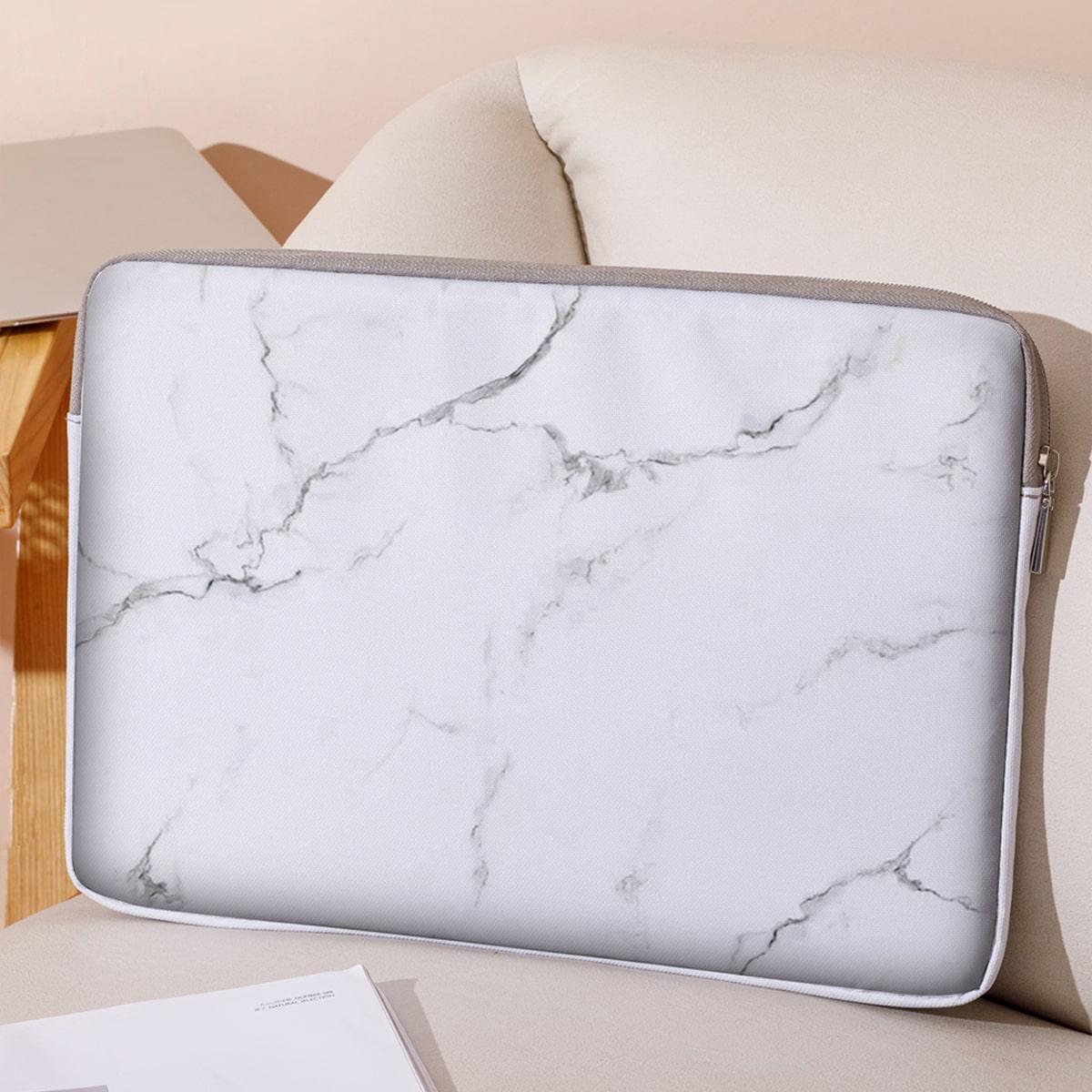 14 дюймов Сумка для ноутбука с мраморным узором