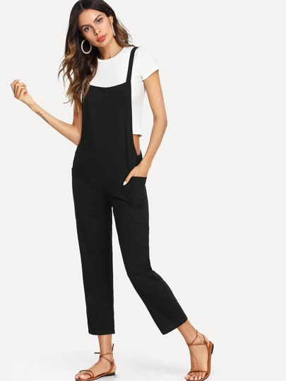 f3cd08675040 Criss Cross Back Pinafore Pants
