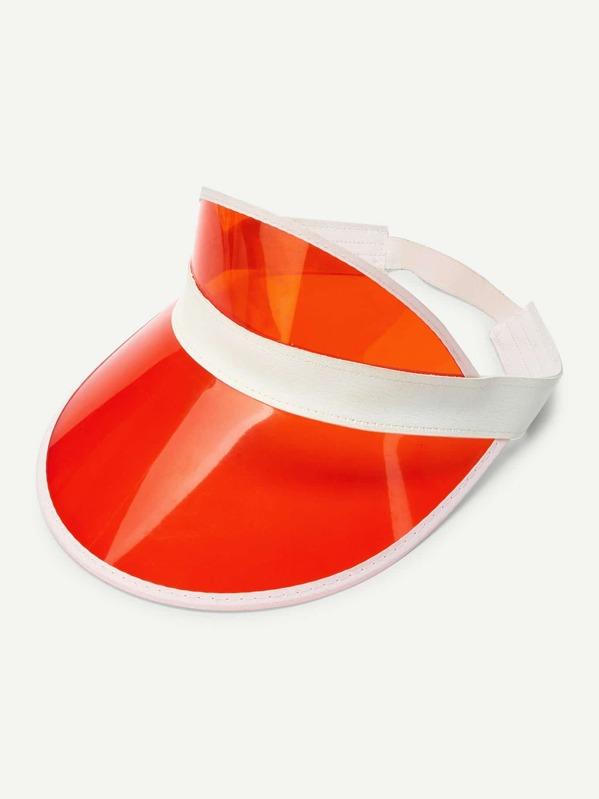 Tinted Brim Visor Hat  c2dde304c82