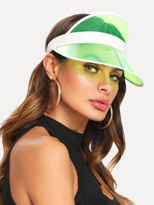 Clear Brim Visor Hat  d7649c40faa