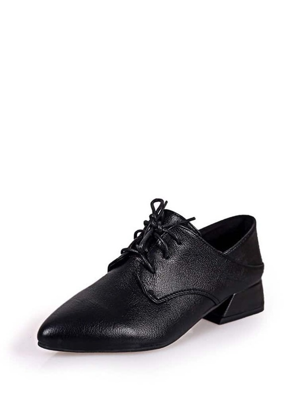0635d9b309 Cheap Pointed Toe Chunky Heeled Oxfords for sale Australia | SHEIN