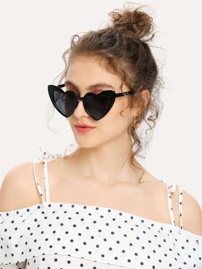 920ba76e3902 Heart Shaped Frame Sunglasses. Heart Shaped Frame Sunglasses. US 4.00