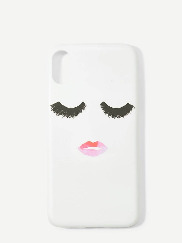 Emoji Pattern I Phone Case by Sheinside