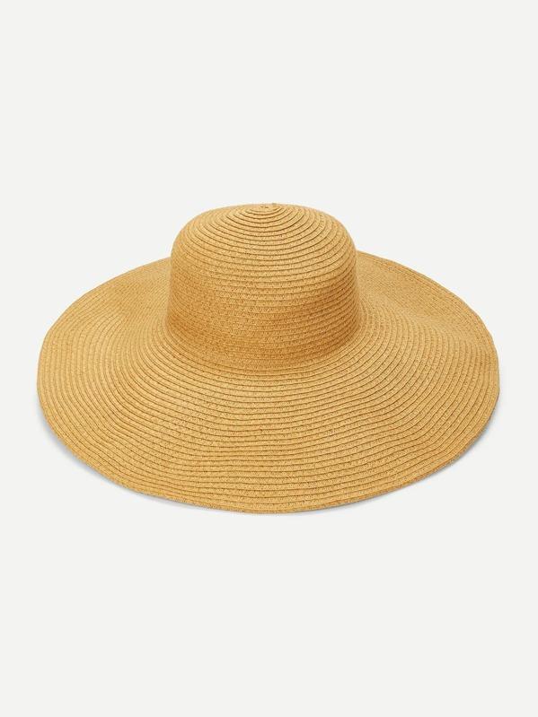Cappello di paglia a tesa larga-Italian SheIn(Sheinside) 68962a99e853
