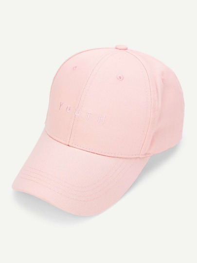 8f432ab0273 Embroidered Letter Baseball Cap