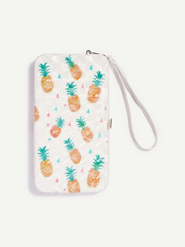 PU cat p Wallet 464888 html Pineapple Pattern 2154 HxP1SS