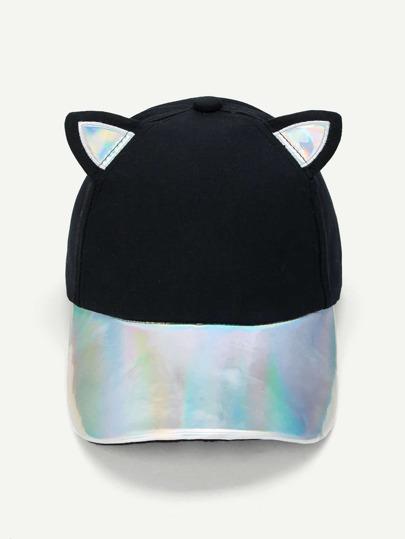 Baseball Cap With Cat Ear  c5907621eb7