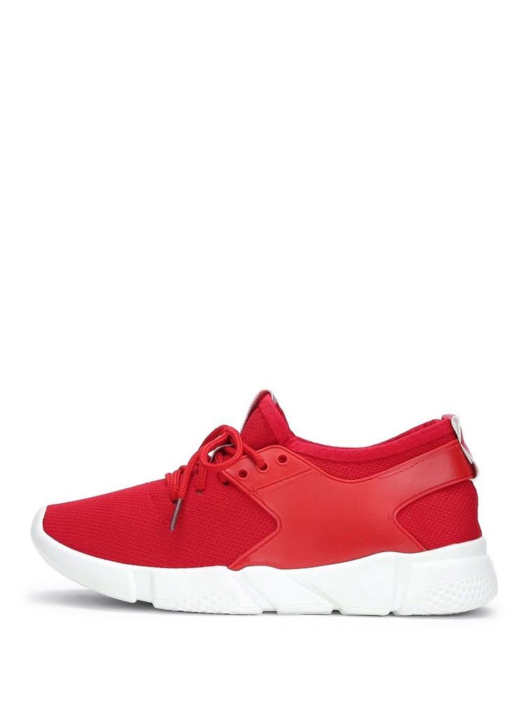 68af841a2 احذية رياضية محبوكة برباط | شي إن