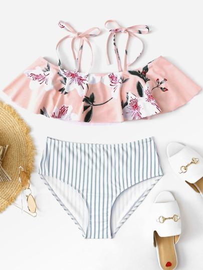 4fc26379551 floral Bikinis Multicolor Traje de baño