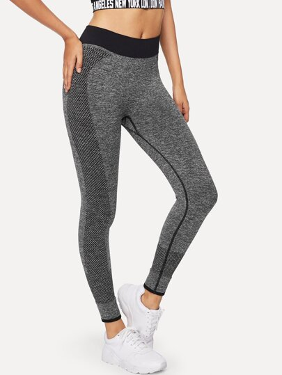 Legging de sport bicolore 37be29b6471