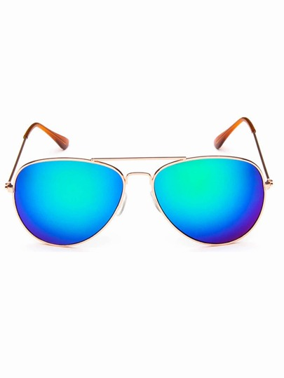 5899bd448b Men Top Bar Aviator Sunglasses -SheIn(Sheinside)