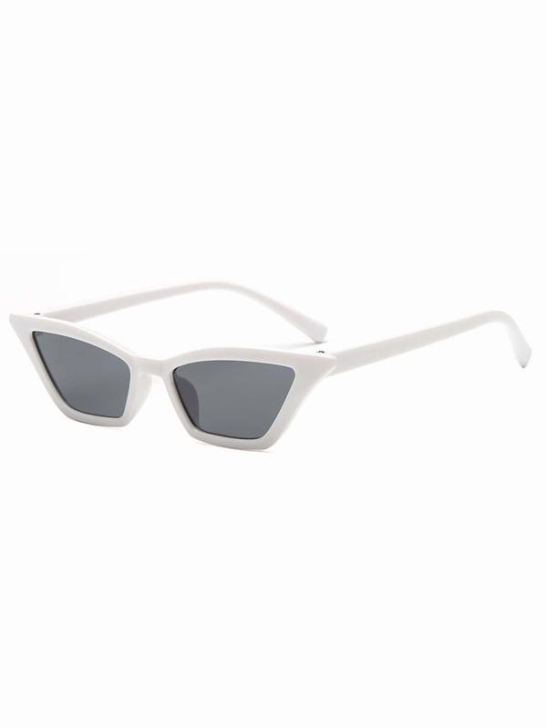 57a17edc55 Flat Lens Cat Eye Sunglasses -SheIn(Sheinside)