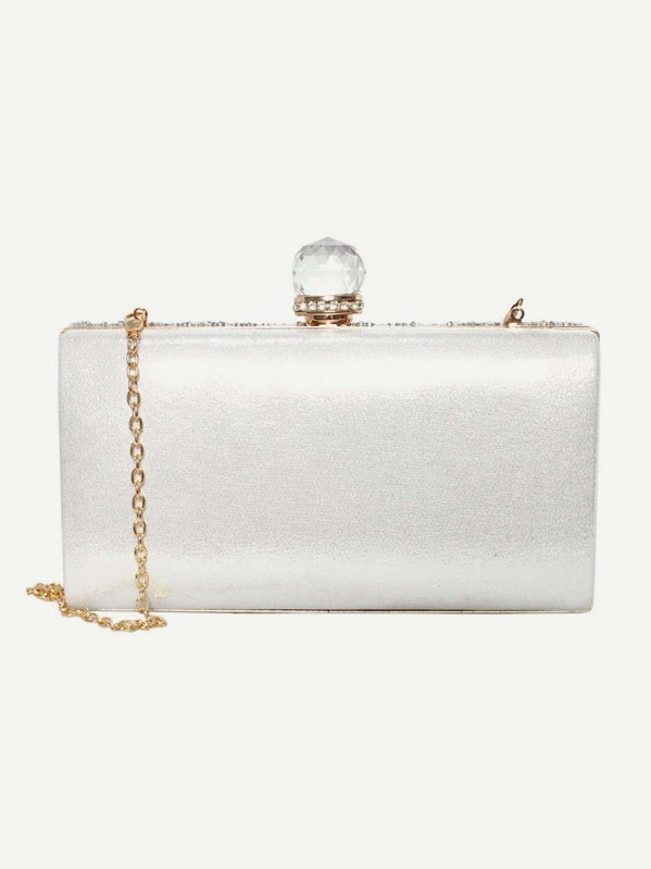 With ChainAddThis Buttons Clutch Glitter Bag Sharing b76gYyfv