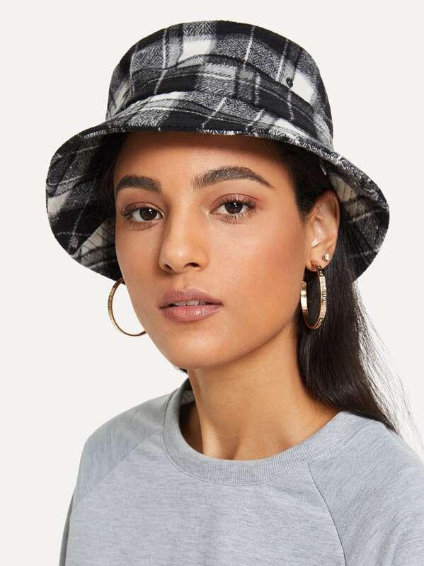 Plaid Bucket Hat  7fc078b0b6c