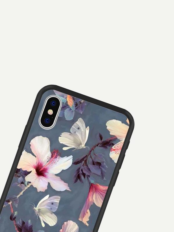 79c99c2aad Floral iPhone Case -SheIn(Sheinside)