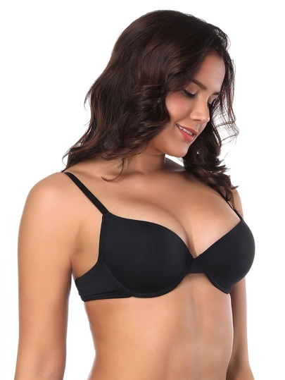 ad05fa5a44d Plus Adjustable Strap Bra