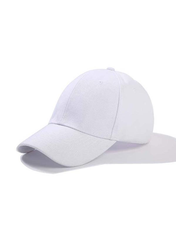 Men Plain Baseball Cap -SheIn(Sheinside) 9e33baeef295