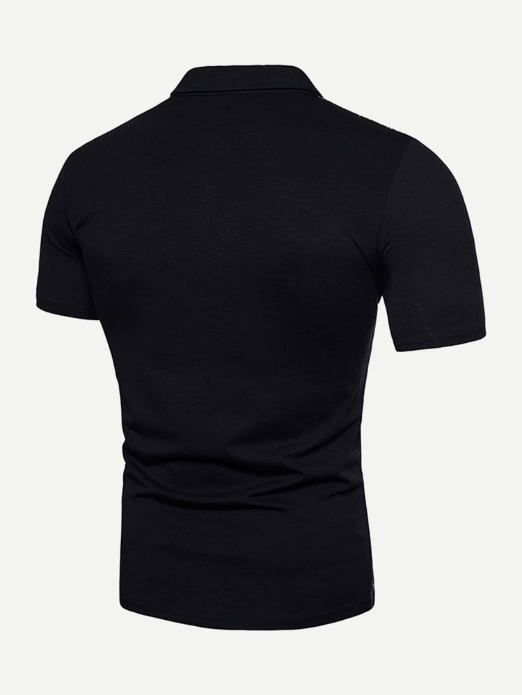 426c514da Men Floral Print Polo Shirt