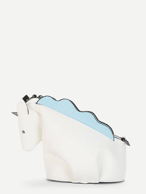 html 555205 borse Shaped p cat Unicorn Crossbody 2152 anfPPC