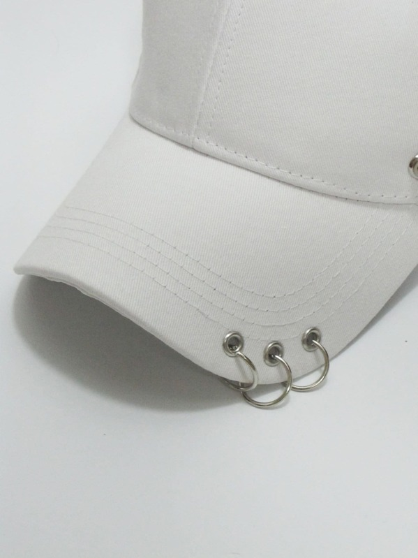 efa415aff33a1 Men Ring & Chain Charm Baseball Cap