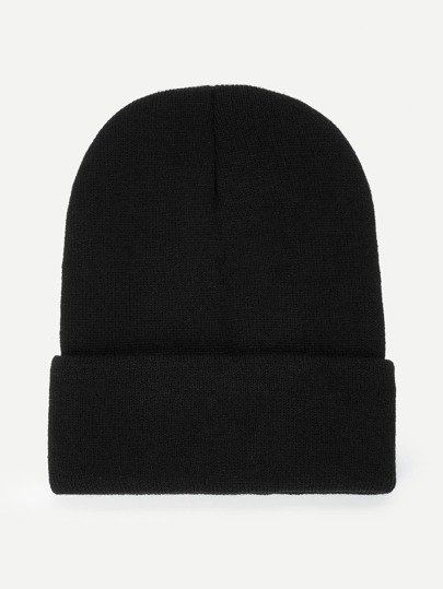 Plain Beanie Hat  3ed296b9cd8