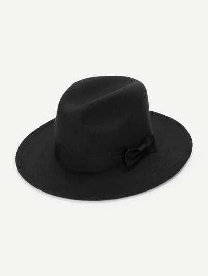 Bow Decorated Panama Hat b62a2e577fa