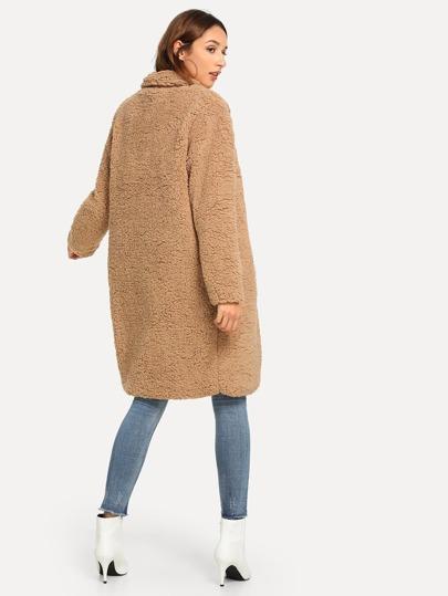 Cappotti   Giacche Tasca Colore unico Camel Per tutti i giorni  360b2ad80502