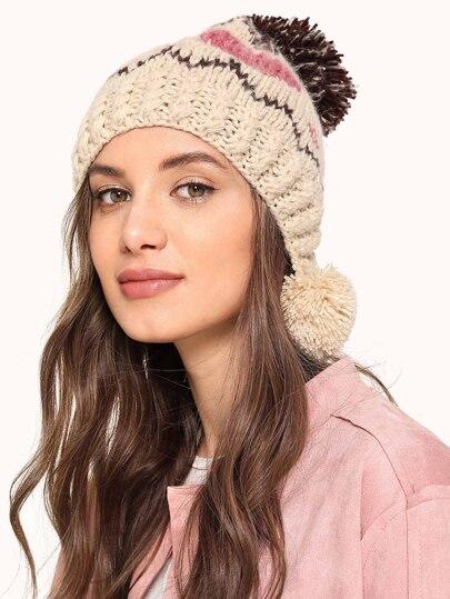 fbe84914dc6 Pom Pom Knit Beanie
