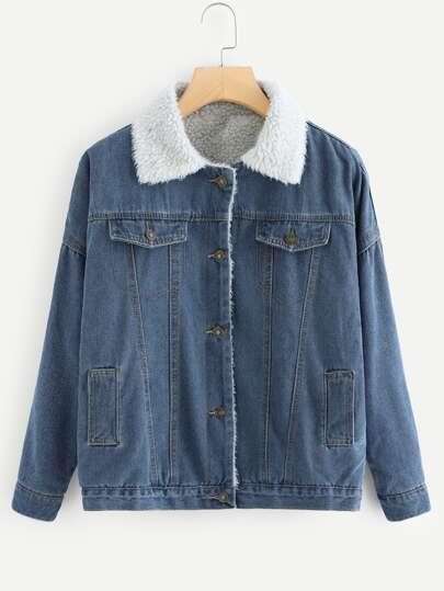 Denim Jackets Womens Denim Jackets Sale Shein Sheinside