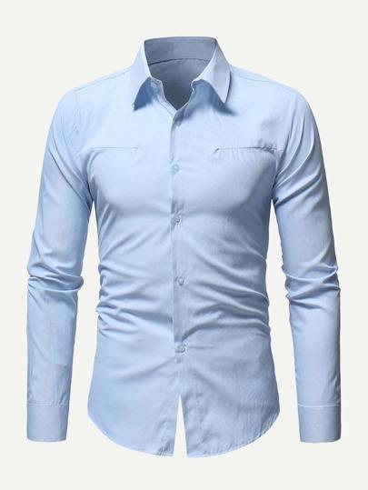 cc229a9f2bea Männer Hemd mit Welle Muster