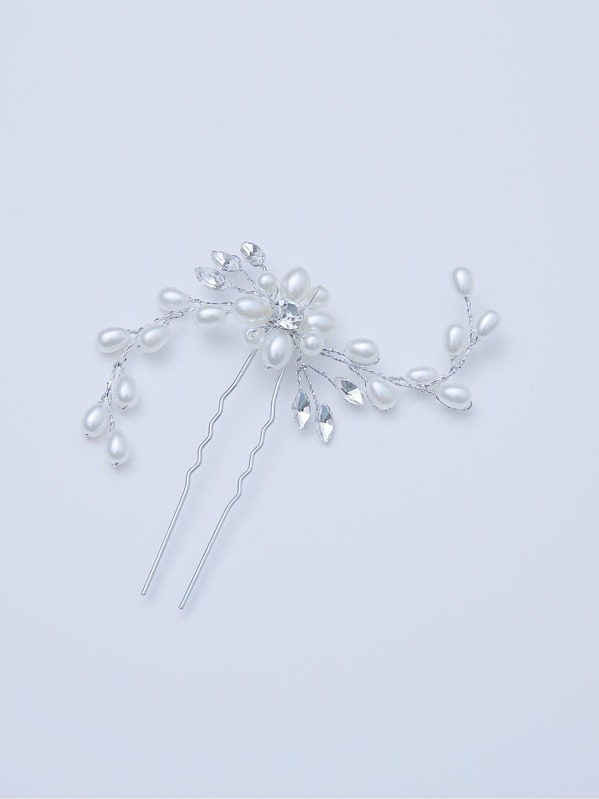 187c8180c2 Faux Pearl Decorated Hair Pin | SHEIN