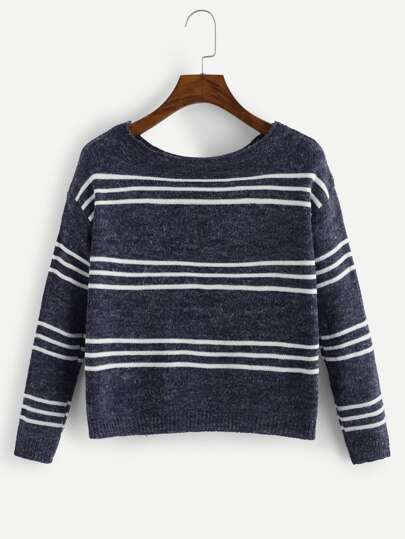 80ad179f7d7ac Striped Pattern Jumper