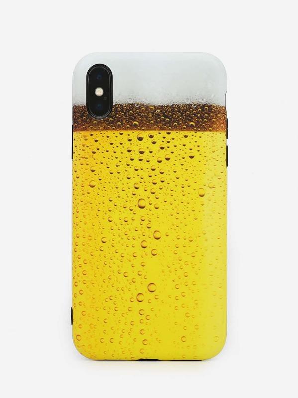 75ddb4621d Colorblock iPhone Case -SheIn(Sheinside)