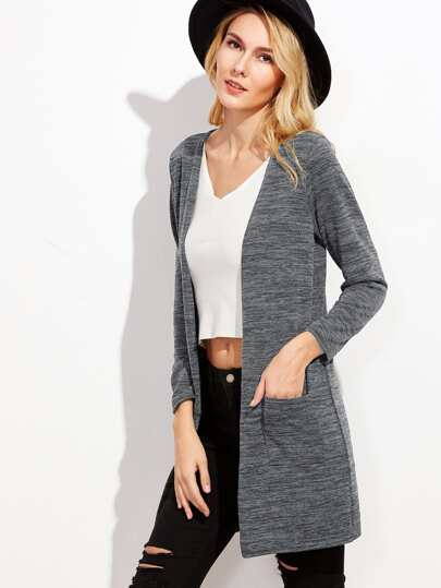 1c3faea8e8 Marled Pockets Long Cardigan