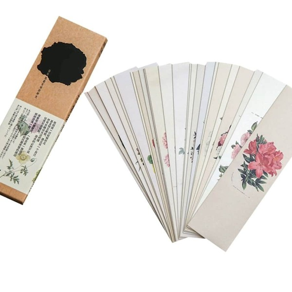 Flower Print Bookmark 30sheets