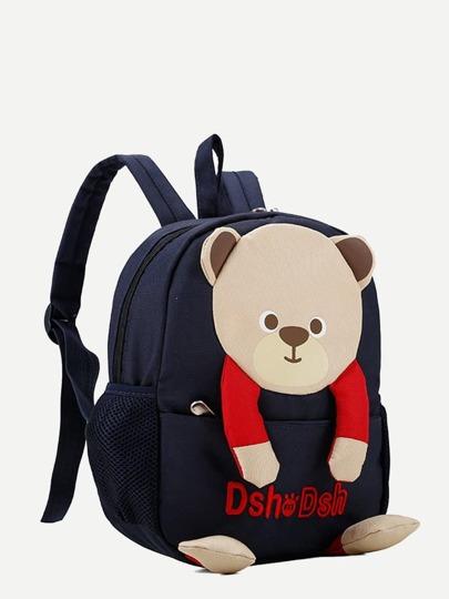 Kids Bear Design Ryggsäck -Svenska SHEIN(SHEINSIDE) ed8449d017921