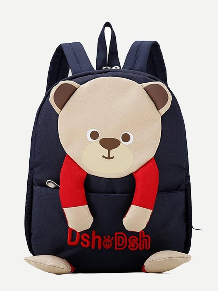 14ba05b6f2 Kids Bear Design Backpack | SHEIN