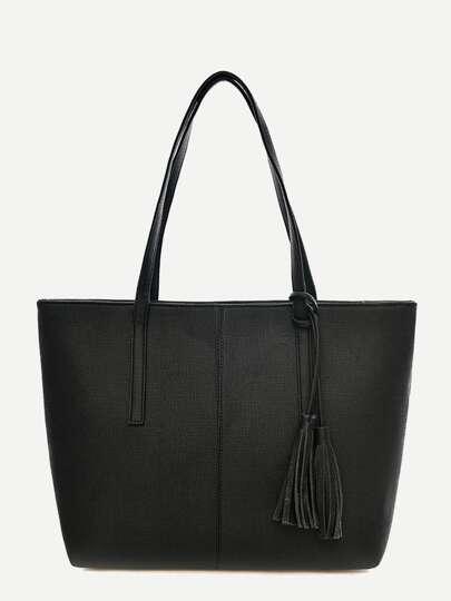 d998884094 Tassel Decor Tote Bag