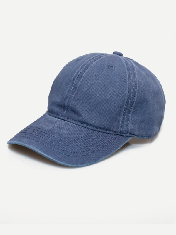 Men Plain Baseball Cap -SHEIN(SHEINSIDE) 15af2aca8dcf