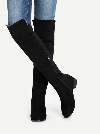 c41ebb2bde1a Knee Length Plain Boots